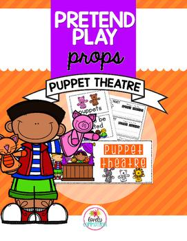 Pretend Play Props- Puppet Theatre