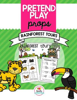 Pretend Play Props- Rainforest Tours