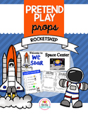 Pretend Play Props- Rocketship