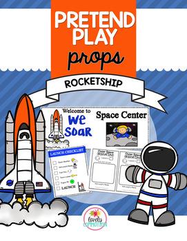 Pretend Play Props- Rocketship
