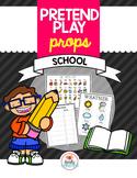 Pretend Play Props- School