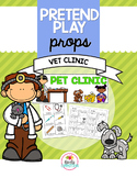 Pretend Play Props Vet Clinic