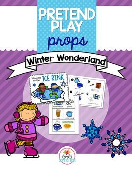 Pretend Play Props- Winter Wonderland
