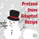 Pretend Snow Adapted Recipe