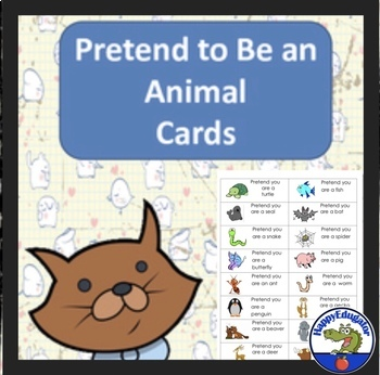 Drama - Pretend to Be an Animal Cards