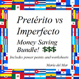 Preterit and Imperfect Bundle