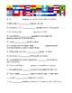 Preterit Practice of regular verbs