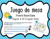 Preterit Tense Conjugation Board Game (Regular & All Irregulars)