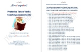 Preterit Tense Verbs  Teaching Assessments