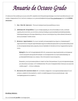 Preterit and Imperfect: Mi Anuario Project