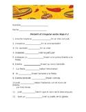 Preterit of irregular verbs Hoja # 2