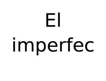 Preterit/Imperfect Bulletin Board