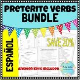 Preterite Regular Verbs Scaffolding Practice (including -c