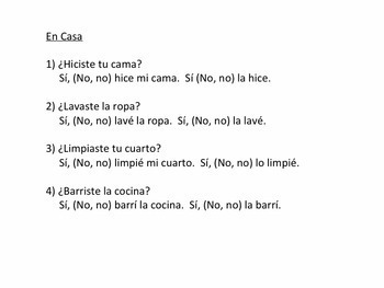 Preterite - Eight Stations Activity in Spanish