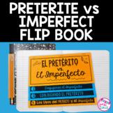 Spanish Preterite vs Imperfect Pretérito Imperfecto Flip Book with DIGITAL