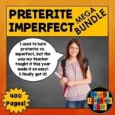 Preterite vs. Imperfect Spanish, Games, Videos, Songs, Quiz, Activities Bundle