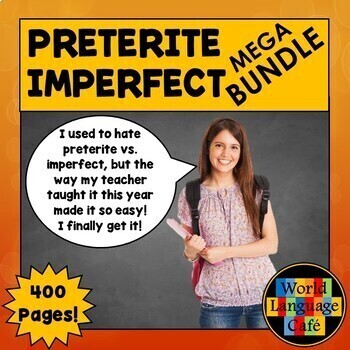 Spanish Preterite vs. Imperfect, Games, Videos, Activities, Distance Learning