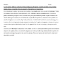 Preterite / Imperfect reading exercise 2