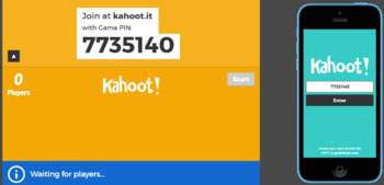 Preterite In-Class Game Kahoot Link!