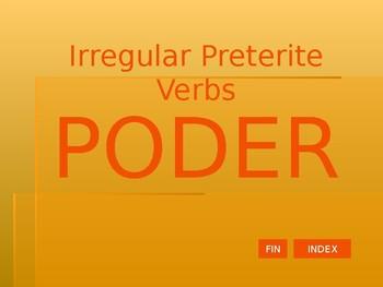 Preterite - Irregular Verbs