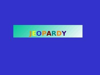 Preterite Jeopardy