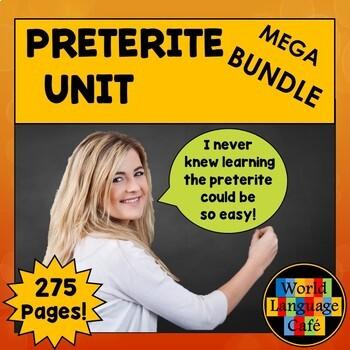 Preterite Lesson Plans, Games, Videos, Songs, Quizzes, Act