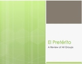 Spanish Preterite Notes With Video for Distance Learning