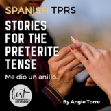 Preterite Practice- TPR Stories in Spanish Distance Learning