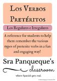 Preterite Regular & Irregular Extensive List