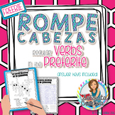 Preterite Regular Verbs Word Puzzles | Word Search and Crossword