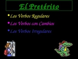 Preterite Regular and Irregular 2
