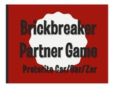 Spanish Preterite Car Gar Zar Brickbreaker Partner Game
