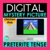 Preterite Tense Digital Mystery Picture   Chichen Itza Pixel Art