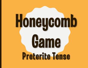 Spanish Preterite Honeycomb Partner Game