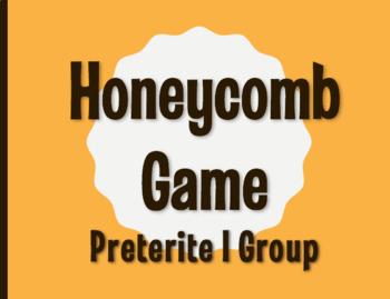 Spanish Preterite I Group Honeycomb Partner Game