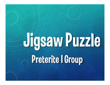 Spanish Preterite I Group Jigsaw Puzzle