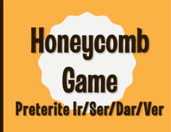 Spanish Preterite Ir Ser Dar Ver Honeycomb Partner Game