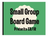 Spanish Preterite Regular ER and IR Board Game