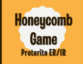Spanish Preterite Regular ER and IR Honeycomb Partner Game
