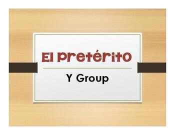 Spanish Preterite Y Group Notes