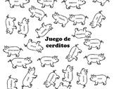 Preterite Verbs Game - Juego de Cerdos - Juego de Cerditos