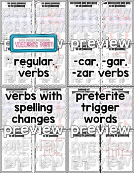 Preterite Verbs Word Puzzles Bundle (Wordsearch and Crossword)