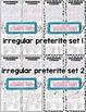 Preterite Verbs Word Puzzles Bundle (Wordsearch and Crossword)