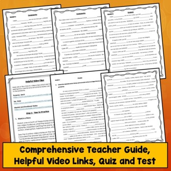 Preterite Vs. Imperfect Activities, Quiz, Test, Videos, Stories, How to Choose
