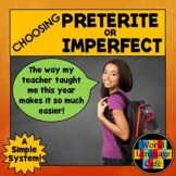Preterite Vs. Imperfect Worksheets, Activities, Quiz, Test
