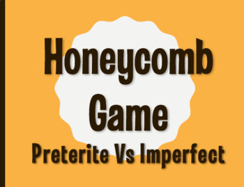 Spanish Preterite Vs Imperfect Honeycomb Partner Game