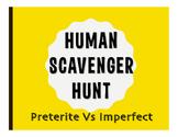 Spanish Preterite Vs Imperfect Human Scavenger Hunt