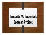 Spanish Preterite Vs Imperfect Project:  Adivina La Película