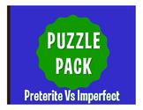 Spanish Preterite Vs Imperfect Puzzle Pack