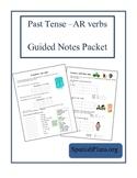 Preterite of AR Verbs